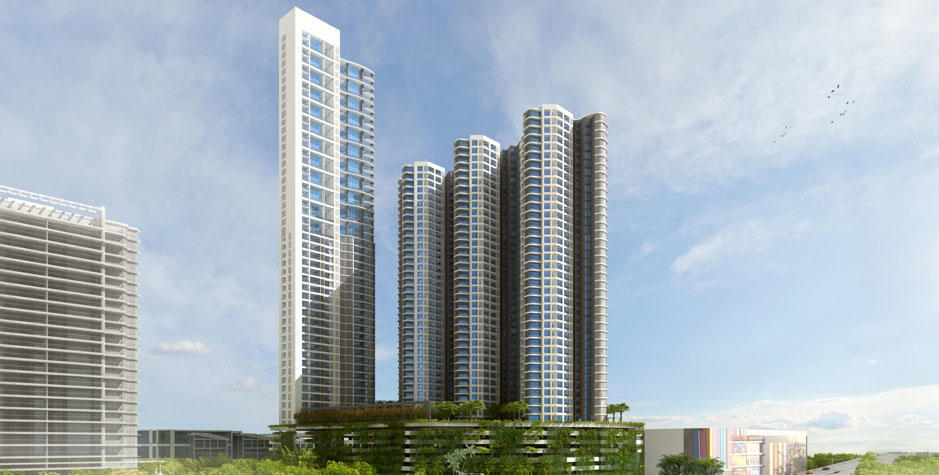 2 BHK Semi Furnished For Lease In Lodha Fiorenza  Goregaon east.